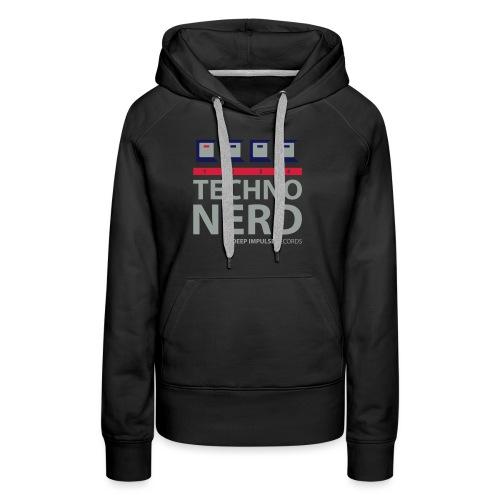 Techno Nerd - Women's Premium Hoodie
