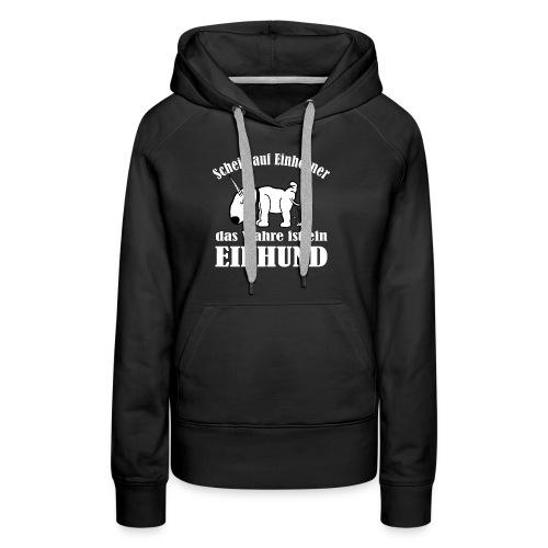 Einhund - Frauen Premium Hoodie