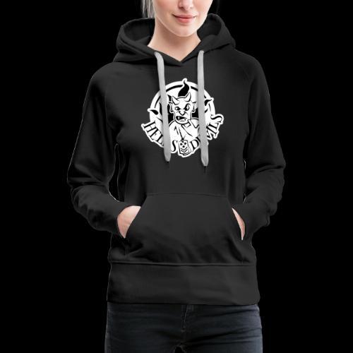 Logo Hells Devils - Frauen Premium Hoodie