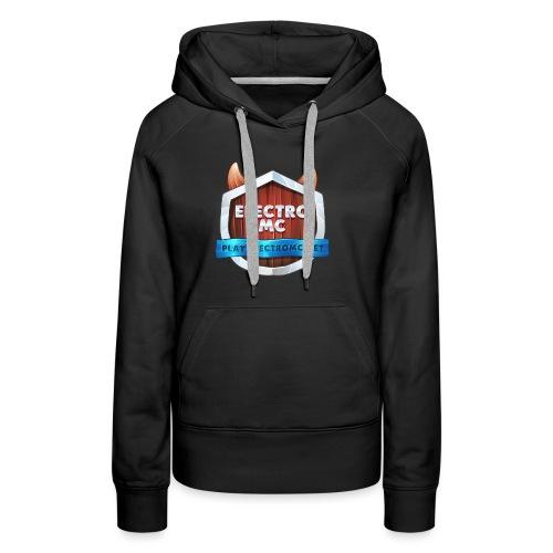 ElectroMC Logo - Vrouwen Premium hoodie