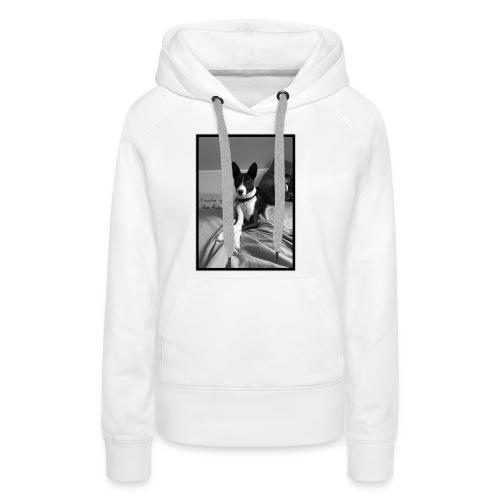 Piratethebasenji - Sweat-shirt à capuche Premium pour femmes