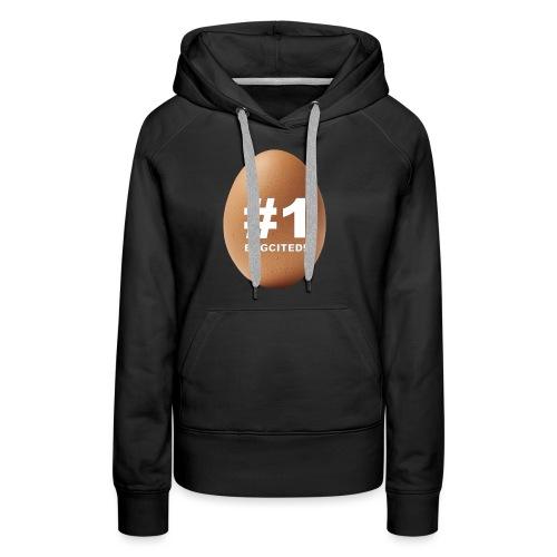 EGGCITED - Vrouwen Premium hoodie