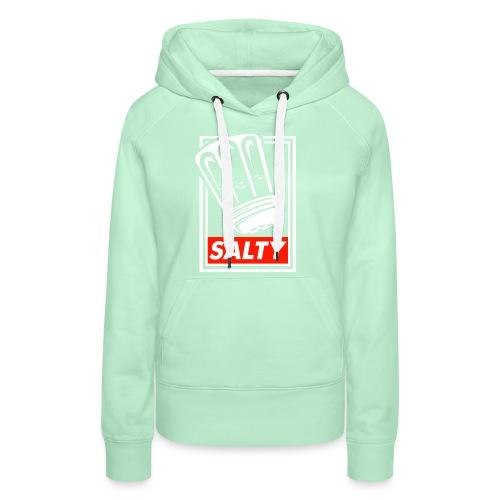 Salty white - Women's Premium Hoodie