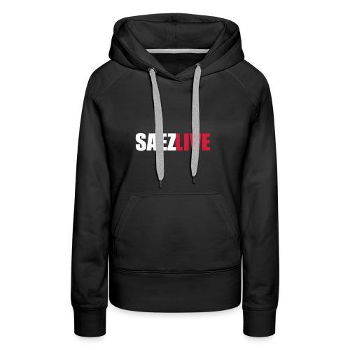 SaezLive (version light) - Sweat-shirt à capuche Premium pour femmes