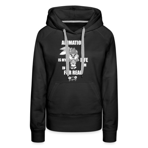 AMB Animation - In It For REAL - Women's Premium Hoodie
