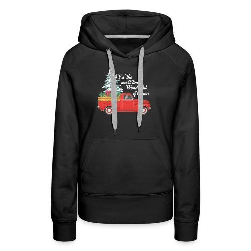 It's The Most Time Wonderful Of The Year - Women's Premium Hoodie