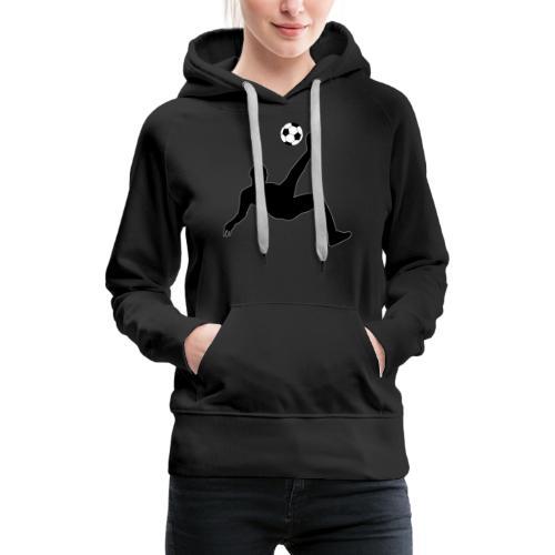 Fussballer - Frauen Premium Hoodie