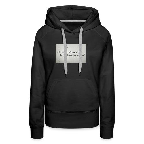 Faul - Frauen Premium Hoodie