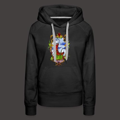 GUNILLE DU PRINTEMPS - Sweat-shirt à capuche Premium pour femmes