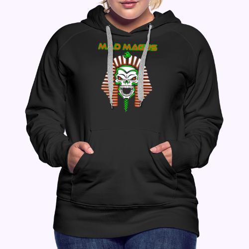 camisa de mago loco - Sudadera con capucha premium para mujer