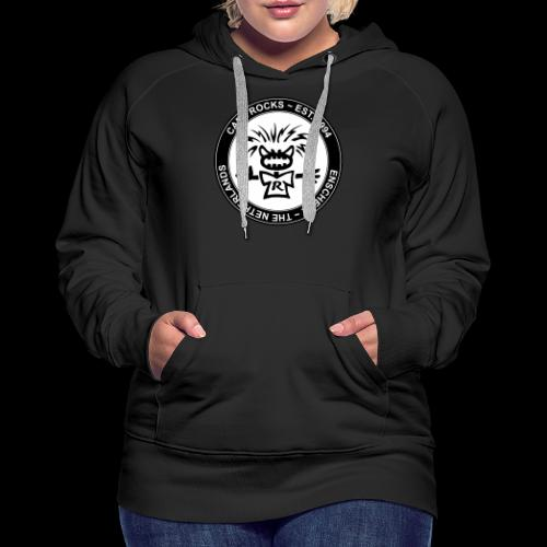 Emblem BW - Vrouwen Premium hoodie