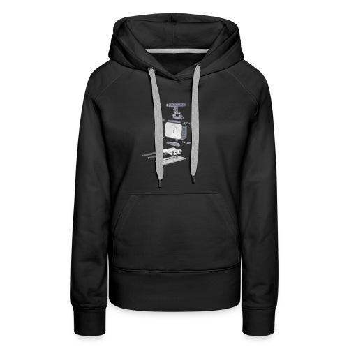 VivoDigitale t-shirt - Blackmagic - Felpa con cappuccio premium da donna