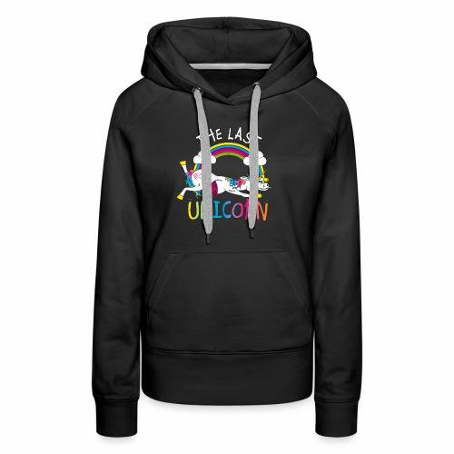 Das letzte Einhorn - Frauen Premium Hoodie