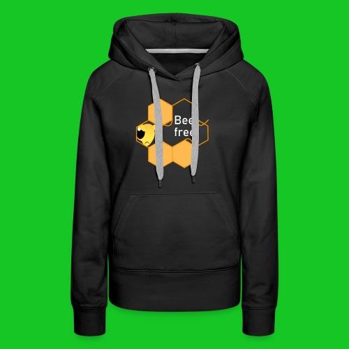 Bee Free - Vrouwen Premium hoodie