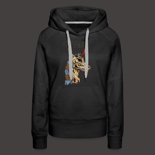 Anubis gold - Sweat-shirt à capuche Premium pour femmes