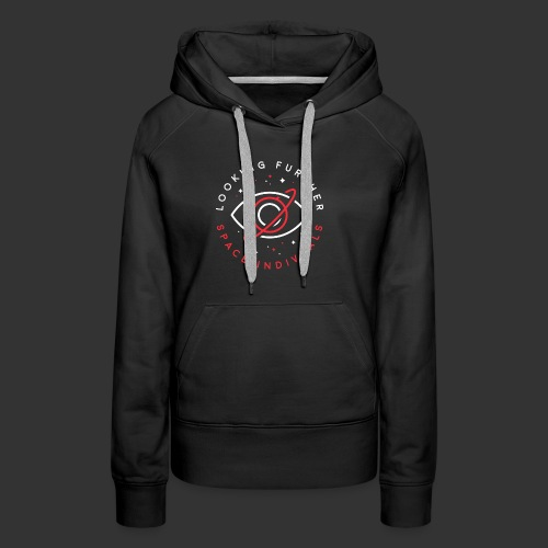 Space Individuals - Looking Farther Black - Women's Premium Hoodie