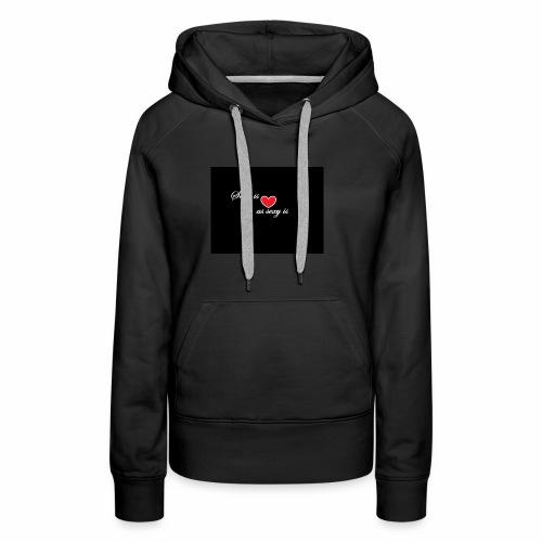 LoveYourselfTheMost - Women's Premium Hoodie