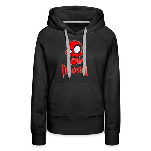 MAD SKULL - Deadpool - Felpa con cappuccio premium da donna