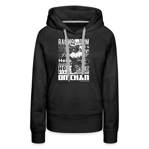 ON Chan - Sweat-shirt à capuche Premium pour femmes