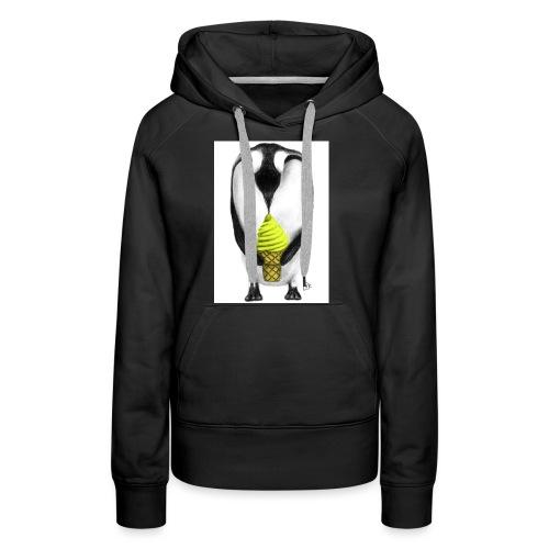 Penguin Adult - Women's Premium Hoodie