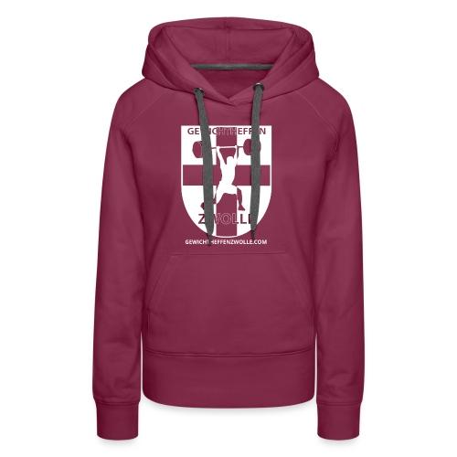 Bestsellers Gewichtheffen Zwolle - Vrouwen Premium hoodie