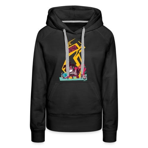 gohan dbz monkey - Sweat-shirt à capuche Premium pour femmes