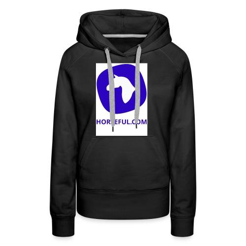 Horseful.com - Logo - Frauen Premium Hoodie