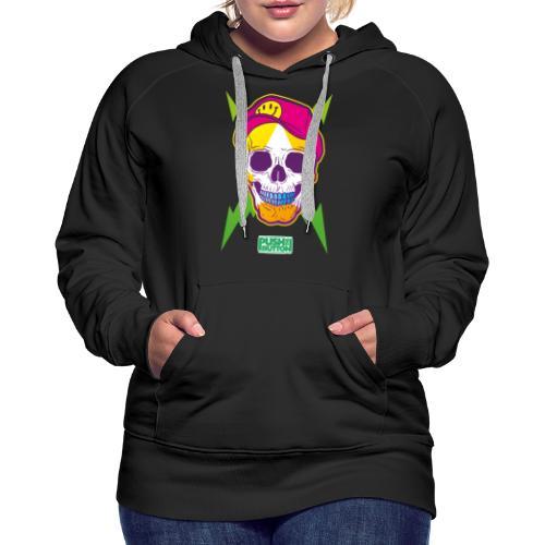 Ptb skullhead - Women's Premium Hoodie
