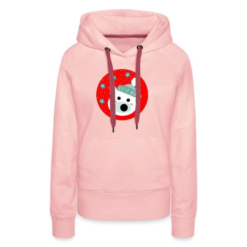 Winter bear - Women's Premium Hoodie