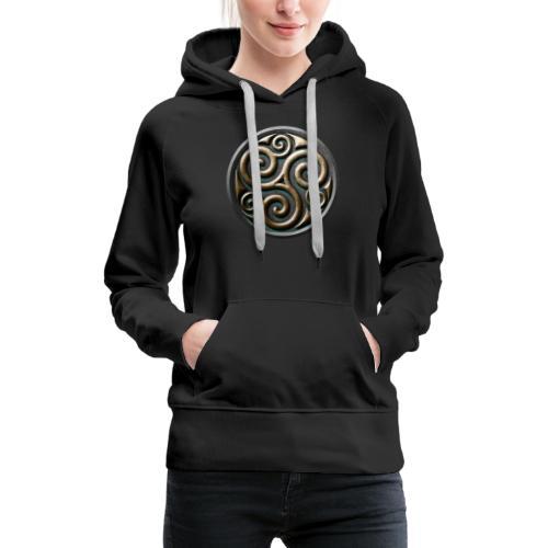 Celtic trisquel - Women's Premium Hoodie