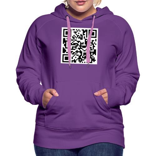 QR ECI UBI2020 - Vrouwen Premium hoodie