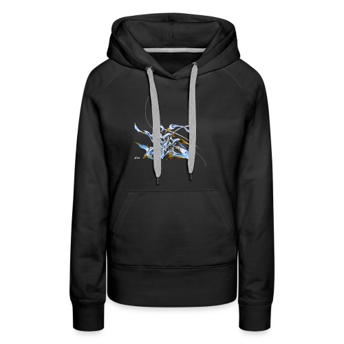 3danimal - Sweat-shirt à capuche Premium pour femmes