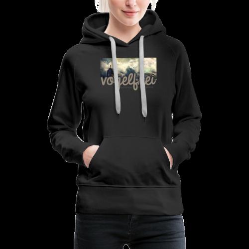 geweihbär Vogelfrei 3 - Frauen Premium Hoodie