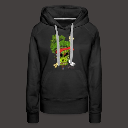 PIRATE BROCCOLI - Sweat-shirt à capuche Premium pour femmes