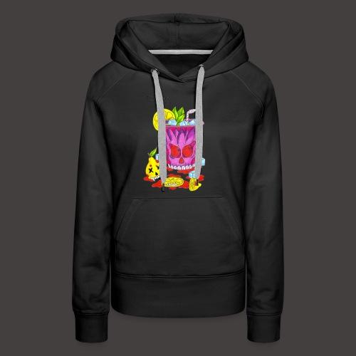 MOJITO LEMON - Sweat-shirt à capuche Premium pour femmes