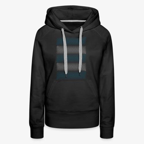 minimaline - Sweat-shirt à capuche Premium pour femmes