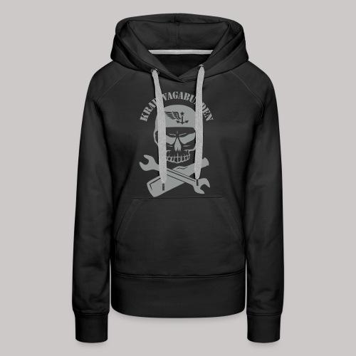 Krad-Vagabunden Totenkopf - Frauen Premium Hoodie