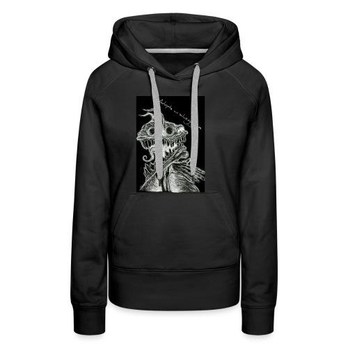 Modèle Gwen Hector Black - Sweat-shirt à capuche Premium pour femmes
