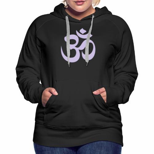 om symbol - Frauen Premium Hoodie