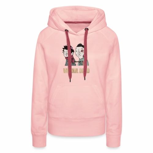 The Wankil Dead - Sweat-shirt à capuche Premium pour femmes