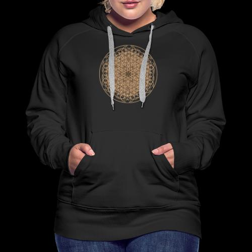lebensblume-fc9 - Frauen Premium Hoodie