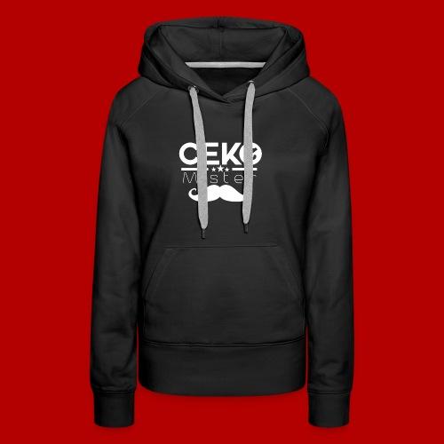 MrCekZ Frauen T-Shirt (Schwarz) - Frauen Premium Hoodie