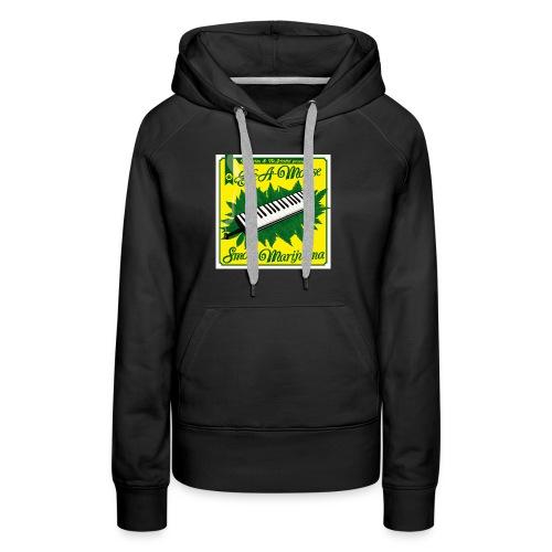 Smoke Marijuana - Women's Premium Hoodie