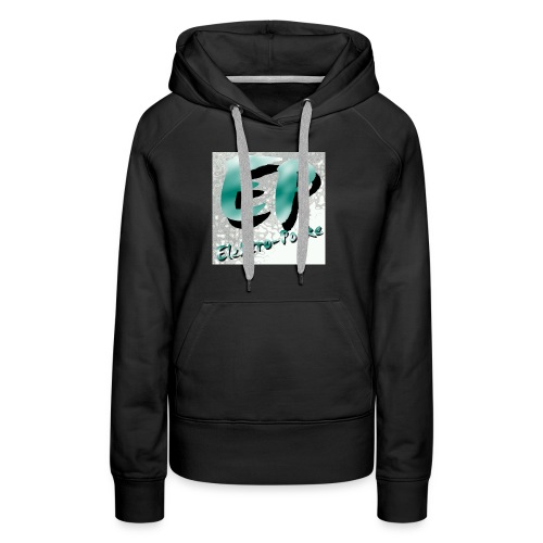 Elektro-Pocke T-Shirt Premium - Frauen Premium Hoodie