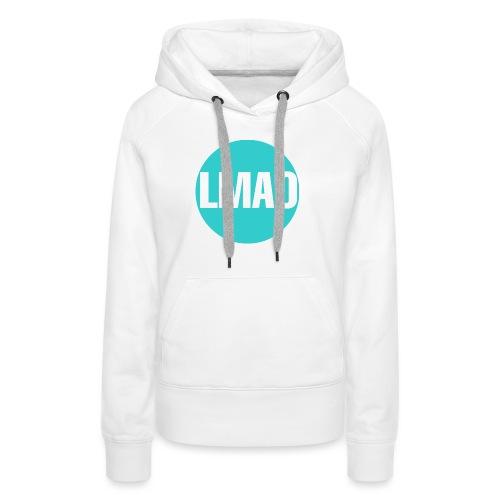 Camiseta Lmao - Sudadera con capucha premium para mujer