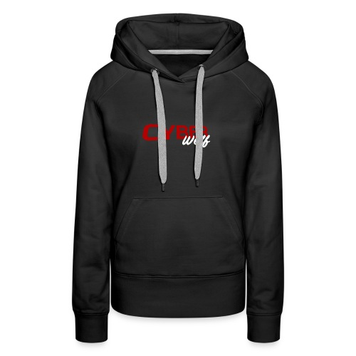T-shirt Zwart - Vrouwen Premium hoodie