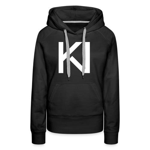 KV Logo png - Women's Premium Hoodie