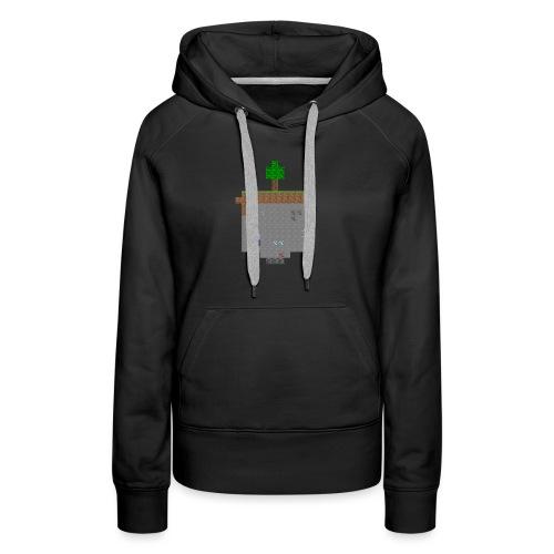 Minecraft World Querschnitt - Frauen Premium Hoodie