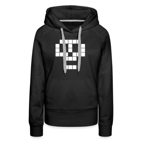 skull - Sweat-shirt à capuche Premium pour femmes