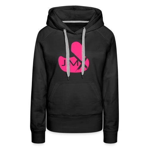 Jim-X Duck Logo - Sweat-shirt à capuche Premium pour femmes